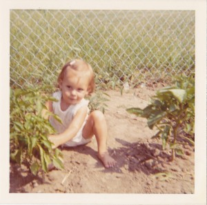 browndirt child gardening